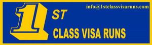 1ST CLASS VISA RUNS