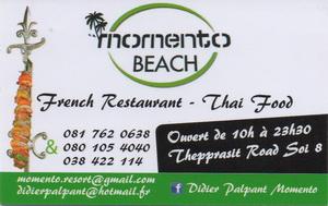 Momento Beach Restaurant