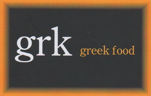 GRK Greek Food