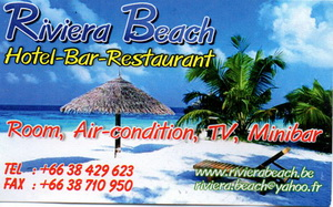 Riviera Beach (Hotel-Bar-Restaurant)